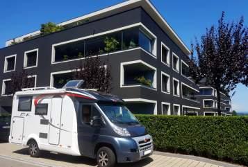Wohnmobil mieten in Konstanz von privat | Bürstner Knut