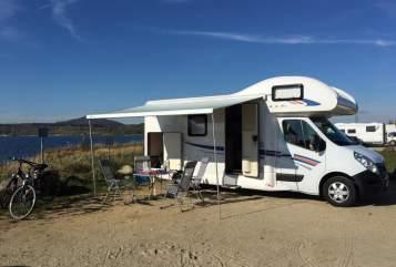 Wohnmobil mieten in Klipphausen von privat | Ahorn Camp 683 ECO mit Klima Domino neu