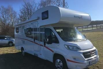 Wohnmobil mieten in Schnaitsee von privat | Sunlight Rudii Luxus
