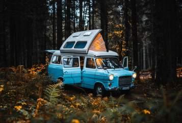 Wohnmobil mieten in Schopfheim von privat | Ford Transit mk1 Wölkchen