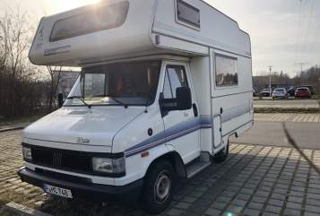 Wohnmobil mieten in Potsdam von privat   Fiat 290 Eura Camper