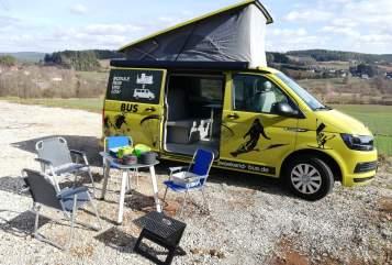 Wohnmobil mieten in Pegnitz von privat | VW T6  Weekend-Bus