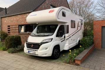 Wohnmobil mieten in Meerbusch von privat | Eura Mobil Emil