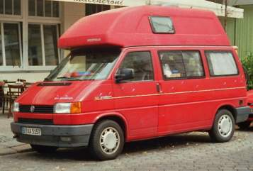 Wohnmobil mieten in Berlin von privat | VW T4 Paul & Paula