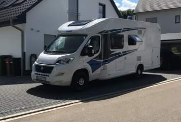 Wohnmobil mieten in Heilsbronn von privat | Knaus Live Wave 700-2