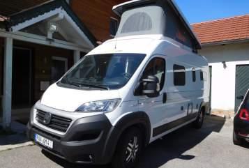 "Wohnmobil mieten in Hebertsfelden von privat | Hymercar/Eriba SUNNY ""FAMILY"""