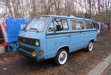 Wohnmobil mieten in Finsterwalde von privat | VW T3 Westfalia Joker Retro Ronny