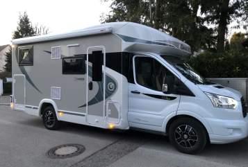 Wohnmobil mieten in München von privat | Chausson  Dino