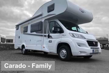 Wohnmobil mieten in Berlin von privat | Carado Carado-Family1