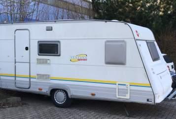 Wohnmobil mieten in Fuldatal von privat | Bürstner  Clubbi