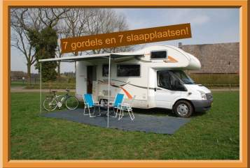 Wohnmobil mieten in Tilburg von privat | Ford Rimor 6 katamarano S