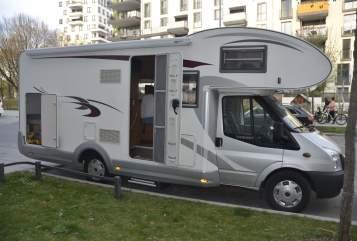 Wohnmobil mieten in München von privat | Euramobil Wunderkiste