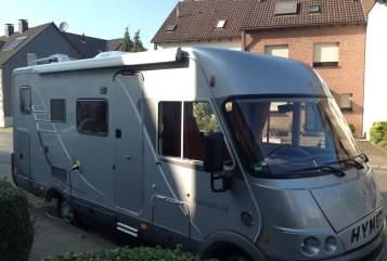 Wohnmobil mieten in Duisburg von privat | Hymermobil Hansi