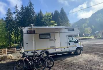 Wohnmobil mieten in Gotha von privat | Eura Mobil Egon