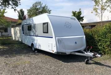 Wohnmobil mieten in Neufahrn bei Freising von privat | Knaus Luisa