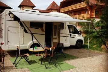 Wohnmobil mieten in Schorndorf von privat | Eura Mobil Fritzle
