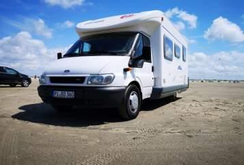 Wohnmobil mieten in Quickborn von privat | Eura Mobil  Eddy WOMOnizer