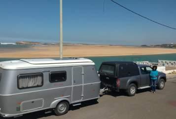 Wohnmobil mieten in Wolfertschwenden von privat | Hymer Kasbah