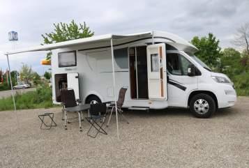 Wohnmobil mieten in Schrobenhausen von privat | Dethleffs Marathoni