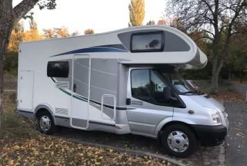 Wohnmobil mieten in Berlin von privat | Ford Transit Flash