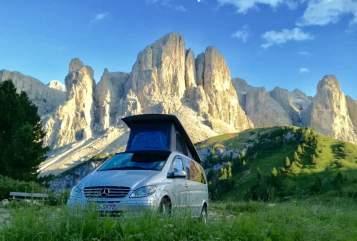 Wohnmobil mieten in Füssen von privat | Mercedes Sven's Camper