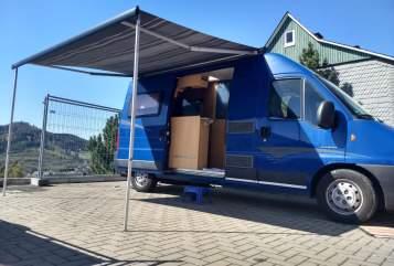 Wohnmobil mieten in Olsberg von privat | Pössl Pössl WoMo