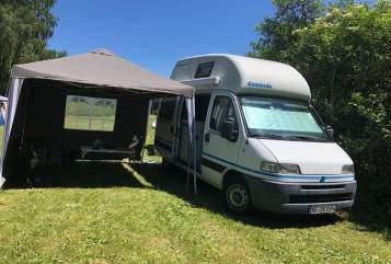 Wohnmobil mieten in Herrenberg von privat | Fiat CamperohneNamen