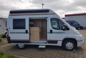 Wohnmobil mieten in Dresden von privat | Fiat Knaus  Eddi