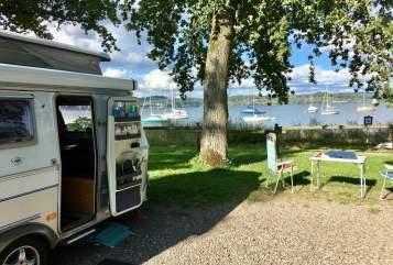 Wohnmobil mieten in Hamburg von privat | Eriba AlsterCamper