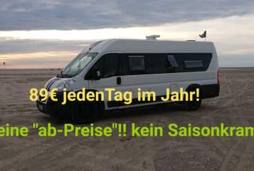 Wohnmobil mieten in Bad Doberan von privat | Peugeot Schwarze Schafe