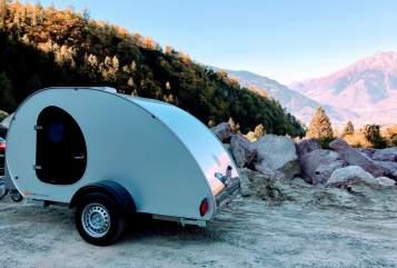 Wohnmobil mieten in Schäftlarn von privat   Teardrop Caravan Rolfi