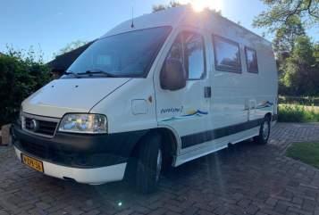 Wohnmobil mieten in Vinkel von privat | Fiat Compacte camper