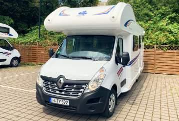 Wohnmobil mieten in Hannover von privat | Renault Magellan