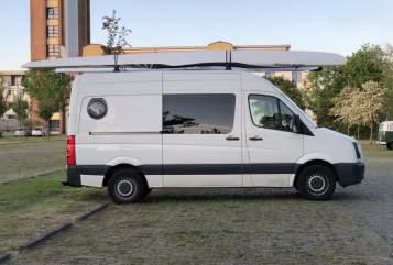 Wohnmobil mieten in Berlin von privat | VW  Surfi