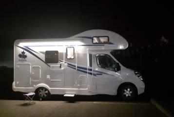 Wohnmobil mieten in Klipphausen von privat | Wohnmobil Ahorn Camp A 595 Modell 2019 mit Klima Ben-neu-Klima