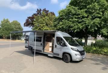Wohnmobil mieten in Langenfeld von privat | Fiat Karmann Karmann Davis