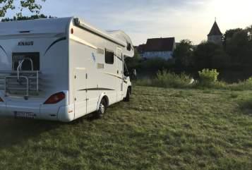 Wohnmobil mieten in Reichenberg von privat | Knaus  Mainschwalbe