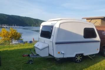 Wohnmobil mieten in Lahnstein von privat   Predom - für fast jedes Auto geeignet Leichtgewicht