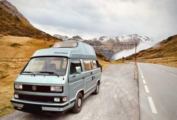 Wohnmobil mieten in Langenfeld von privat | VW Atlantic Bulli