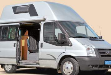 Wohnmobil mieten in München von privat | Ford Transit Nugget El viajero