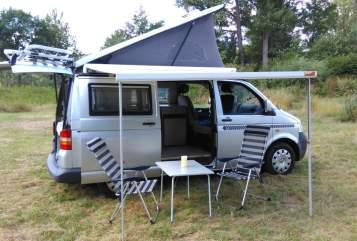 Wohnmobil mieten in Rattelsdorf von privat | VW T5 Bulli Aufstelldach Bullibus