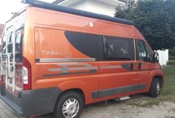 Wohnmobil mieten in Grünheide von privat   Fiat Twin