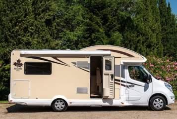 Wohnmobil mieten in Solingen von privat | Ahorn  Canada TE plus