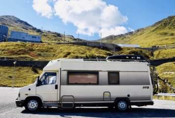 Wohnmobil mieten in St. Johann von privat | Fiat Ducato  Tabbert