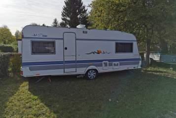 Wohnmobil mieten in Eschweiler von privat | Hobby 555UL Erna Tours