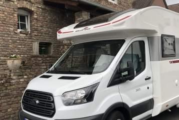 Wohnmobil mieten in Bergheim von privat   Roller Team Pete