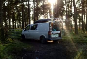 Wohnmobil mieten in Bergen auf Rügen von privat | VW Gluecksbus
