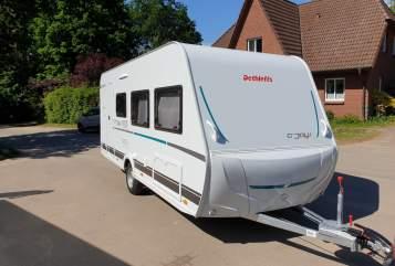 Wohnmobil mieten in Münster von privat | Dethleffs Wohndose