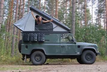 Wohnmobil mieten in Langkampfen von privat | Land Rover Sir Ranulph