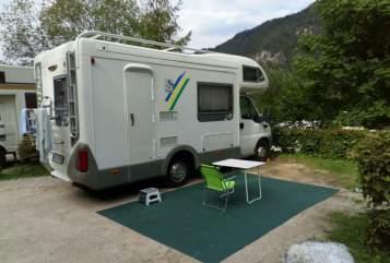 Wohnmobil mieten in Nürnberg von privat | Fiat Sunny